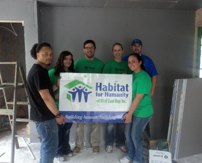 First Photo Habitat for Humanity, East Bay, RI