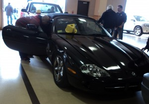 Donated Jaguar to Car Talk