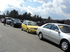 auto auction donated car sales
