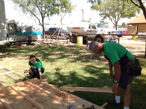 Cars for Homes helps build playhouses