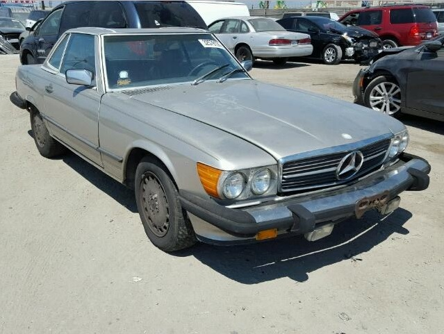 1986 Mercedes-Benz 560SL for U.S. Fund for UNICEF