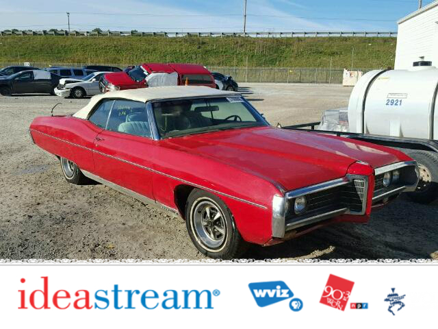 1969 Pontiac Bonneville for Ideastream Public Radio