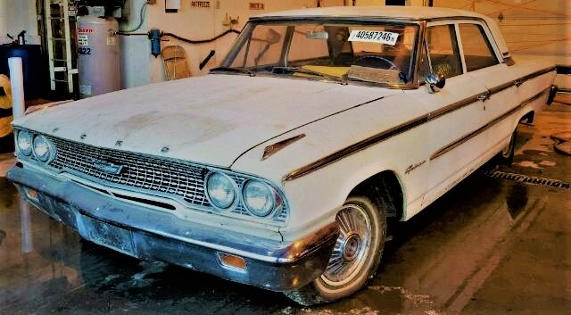 1963 Ford Galaxie donated to Car Talk