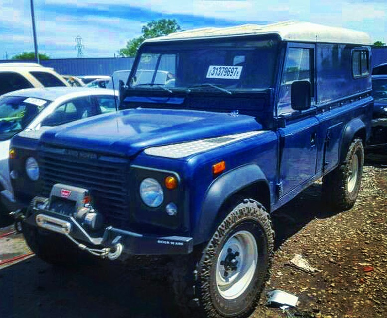 1994 Land Rover Defender 110 Donated to Wisconsin Public Radio