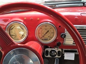 WBEZ Car Donation - 1948 Chevy Truck - Dashboard