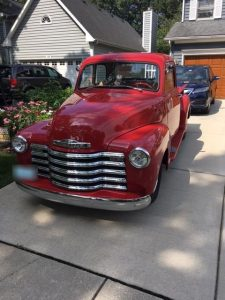 WBEZ Car Donation - 1948 Chevy Truck - Front
