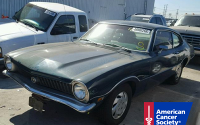 1971 Ford Maverick Donated To American Cancer Society