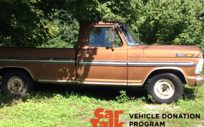 '72 Ford F100 donated to WUOT
