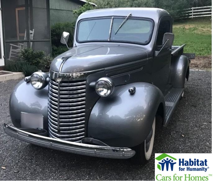 1940 Chevrolet Donated to Solano-Napa Habitat for Humanity