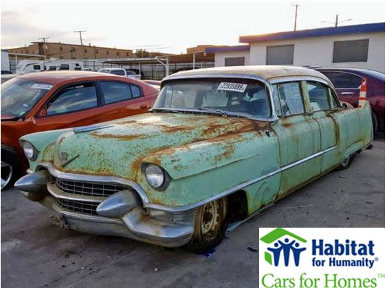 1955 Cadillac Donated to Dallas Habitat for Humanity