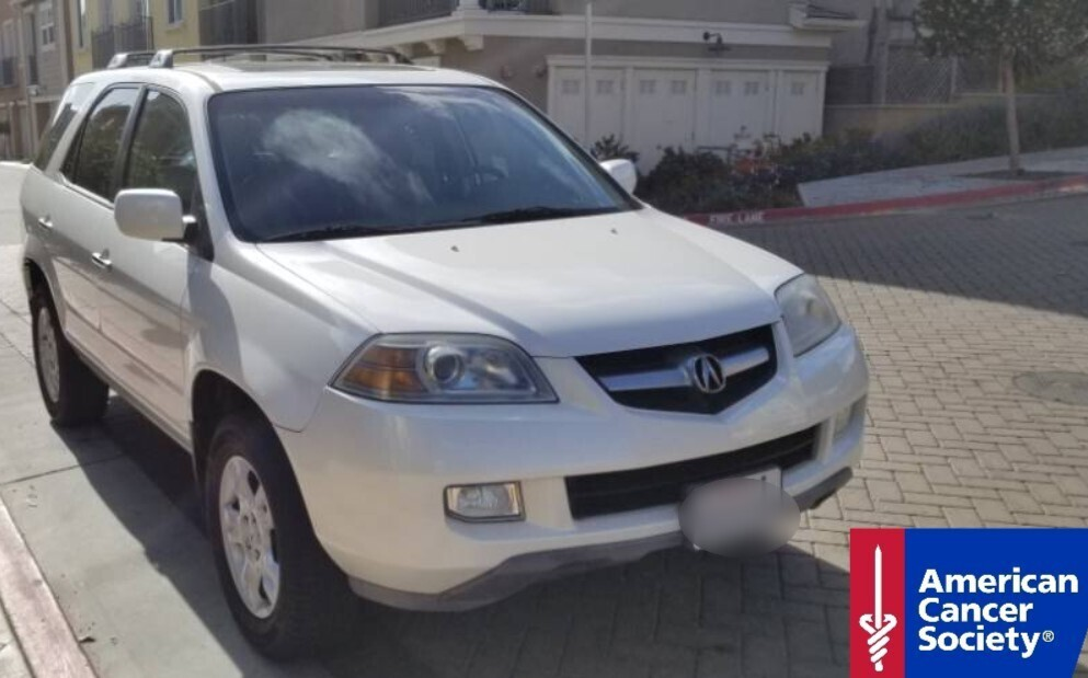 2005 Acura MDX Donated to the American Cancer Society