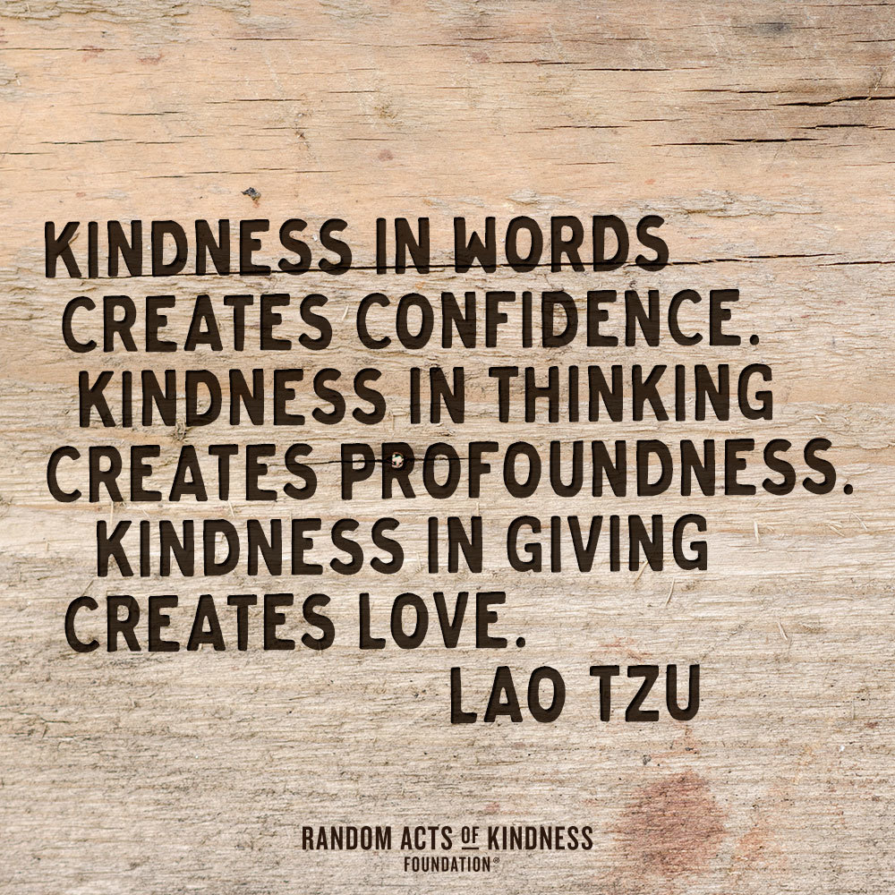 Kindness in words