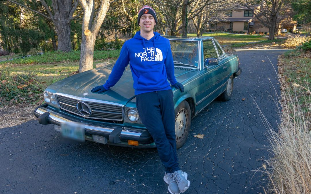 Classic Mercedes Donated to Habitat Honors Father