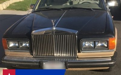 Rolls Royce Donated to American Cancer Society