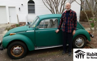 1974 Volkswagen Beetle Donated to Habitat for Humanity