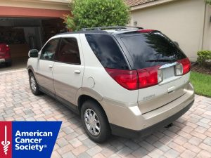 Buick Rendezvous Donated to American Cancer Society