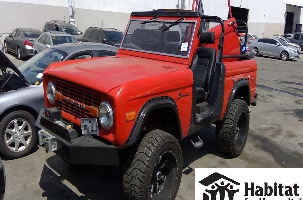 Ford Bronco Donated to Habitat for Humanity