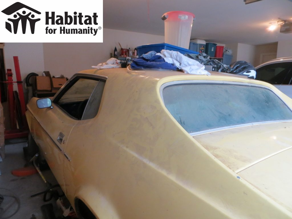 1973 Ford Mustang donated to HFH
