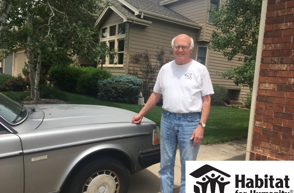 Volvo 240 to Habitat for Humanity