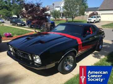 Ford Mustang Donated to American Cancer Society