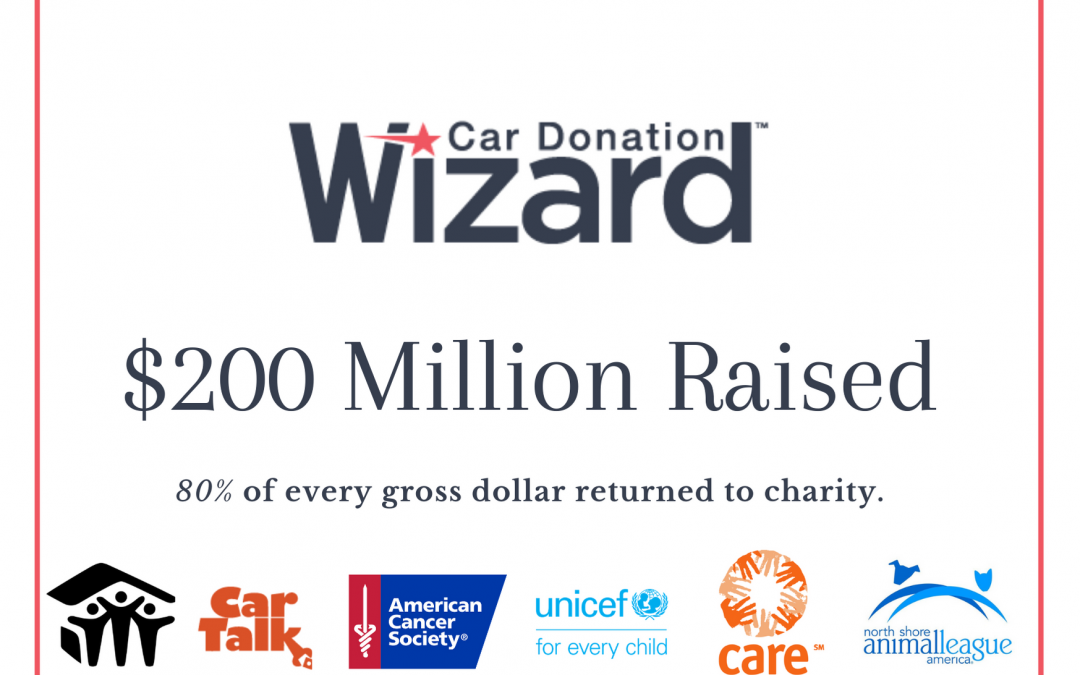 Car Donation Wizard Raises $200 Million