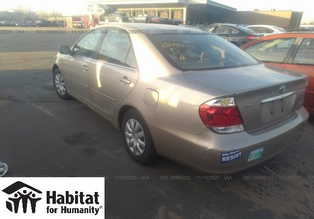 Toyota Camry donated to Habitat for Humanity