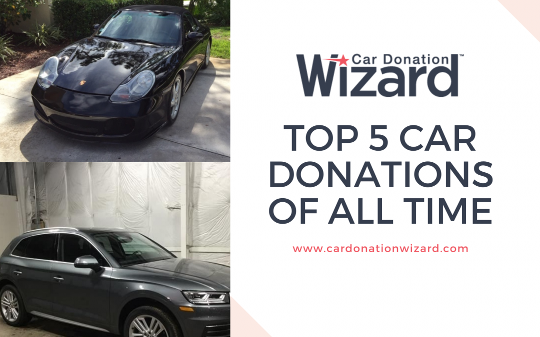 Top 5 Car Donations of All Time