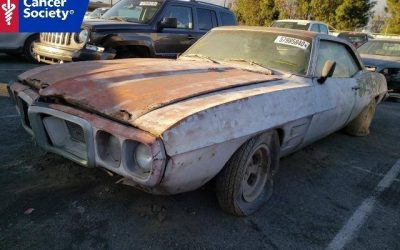 1969 Firebird Donated to American Cancer Society