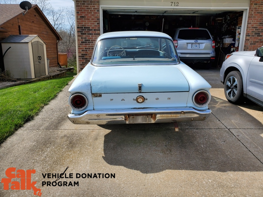 Ford Falcon donated to KBIA