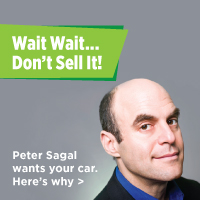 Peter Sagal - Donate your vehicle today