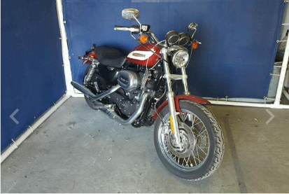 Motorcycle donated from Sommerville, MA