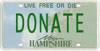 vehicle donation to charity of your choice in Keene, NH