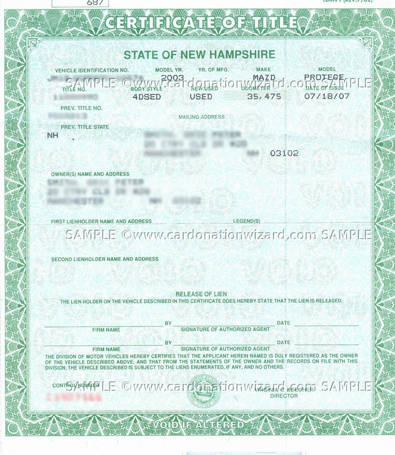 New Hampshire No Car Insurance